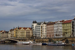 The Dancing House, the Nationale-Nederlanden building in Prague, Royalty Free Stock Photography