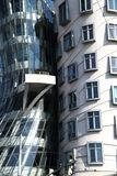 Dancing house in the Prague Royalty Free Stock Images