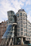 Dancing House in Prague. Dancing House, modern architecture in Prague royalty free stock image