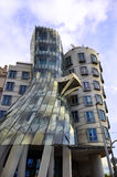 Dancing House in Prague Royalty Free Stock Photos