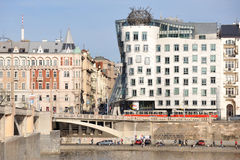Dancing house Stock Image