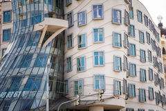 Dancing House in Prague Stock Photography