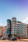 Dancing House in Prague. Royalty Free Stock Photos