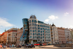 Dancing House in Prague. Stock Photography