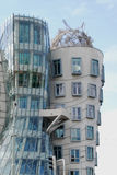 The Dancing House, Prague, Czech Republic. NThe Dancing House is the nickname given to the Nationale-Nederlanden building on the Rašín Embankment in Prague Stock Photos