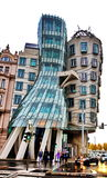 The Dancing House, Prague, Czech Republic Stock Photography