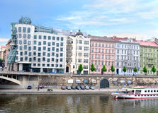 Dancing House. Prague. Czech Republic Royalty Free Stock Images
