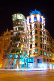 The Dancing House  in Prague, Czech Republic. Royalty Free Stock Photography