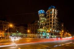 Dancing house - Prague stock photos