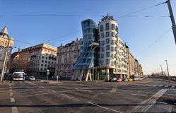 Dancing House, Prague Royalty Free Stock Images