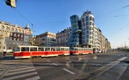 Dancing House, Prague Stock Image