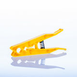 Clothes peg yellow Stock Photos