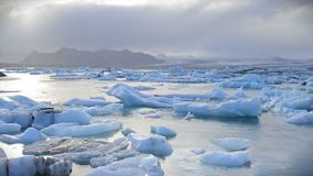 Dancing Icebergs Stock Photos