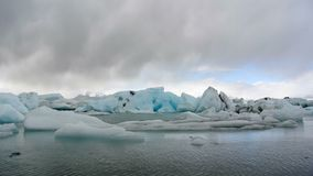Dancing Icebergs Royalty Free Stock Photography
