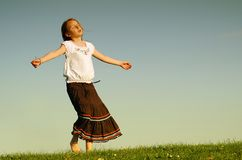 Dancing In The Sunshine Stock Photos