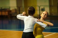 Dancing kids Royalty Free Stock Photography