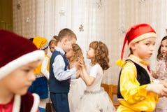 Dancing in kindergarten Stock Image