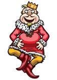 Dancing King Royalty Free Stock Images