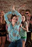 Dancing lady Royalty Free Stock Photos