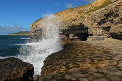 Dancing Ledge Caves Royalty Free Stock Images