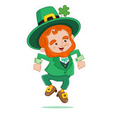 Dancing Leprechaun Royalty Free Stock Photo