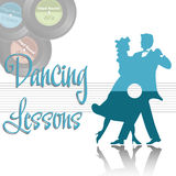 Dancing lessons Stock Photo