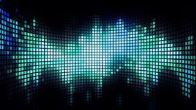 Dancing Light Grid Background Stock Photo