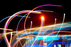 Dancing Lights deux Royalty Free Stock Photo