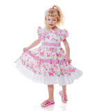 Dancing little girl Royalty Free Stock Images