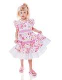 Dancing little girl Stock Image