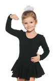 Dancing little girl Royalty Free Stock Image