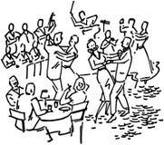 Dancing Lounge Stock Image
