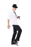 Dancing man Stock Images