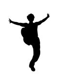 Dancing man Stock Photo