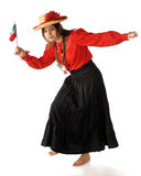 Dancing for Mexico Stock Image