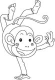 A Dancing Monkey Stock Photos