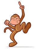 Dancing Monkey Stock Image