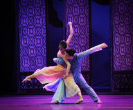 Dancing in the moonlight-The second act of dance drama-Shawan events of the past. Guangdong Shawan Town is the hometown of ballet music, the past focuses on the Stock Photography