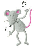 Dancing mouse Stock Photo