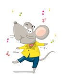 Dancing mouse Stock Photography