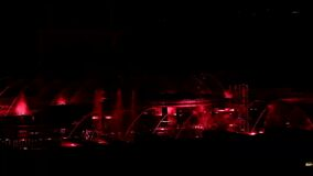 Dancing musical fountains of Prague-episode 6 stock footage