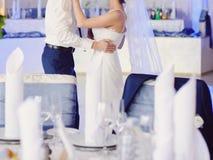 Dancing Newlyweds Royalty Free Stock Image