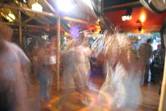 Dancing in the night club Stock Image