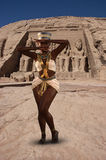 Dancing Nubian Princess, Egypt, Abu Simbel Royalty Free Stock Photo