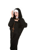 Dancing Nun Royalty Free Stock Photography
