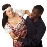 Dancing pair Stock Image