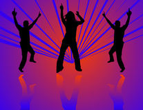 Dancing at a party Royalty Free Stock Photos