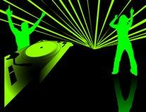 dancing party Στοκ εικόνες με δικαίωμα ελεύθερης χρήσης