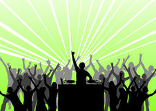 dancing party ελεύθερη απεικόνιση δικαιώματος