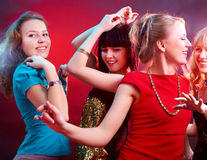 Dancing party Royalty Free Stock Image